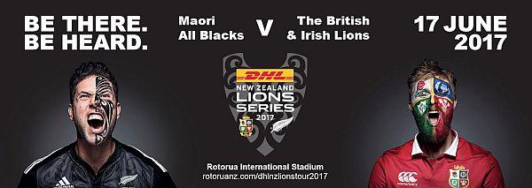 Lions v Maori All Blacks graphic